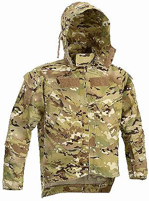 DRAGONFLY TACTICAL JACKET COLORE MULTI CAMO
