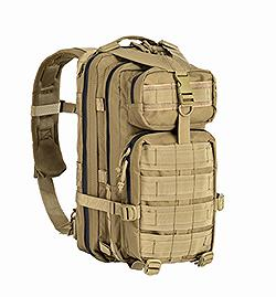 TACTICAL BACK PACK HYDRO COMPATIBILE TAN