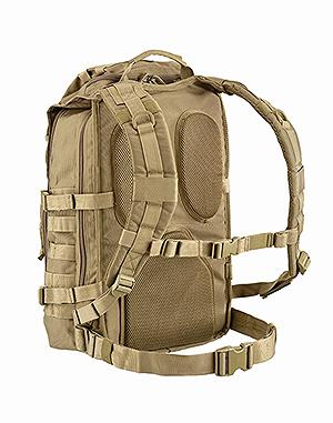 DEFCON 5 TACTICAL ASSAULT BACK PACK HYDRO COMPATIBILE COYOTE TAN