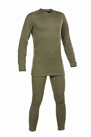 THERMAL UNDERWEAR LEVEL II WITH SECOND SKIN MEMBRANE OD GREEN