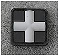 REDCROSS MEDIC 25MM PATCH