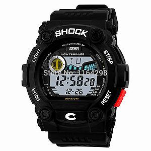 MILITARY SHOCK WATCH BLACK