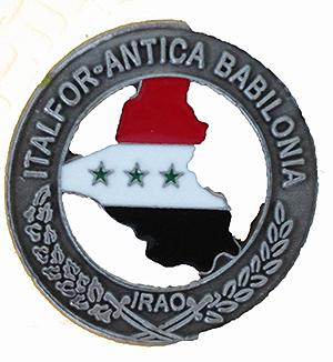 IRAQ ANTICA BABILONIA MISSION PIN
