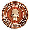 NO MERCY - KINETIC WORKING GROUP - INSIDER PATCH, DESERT