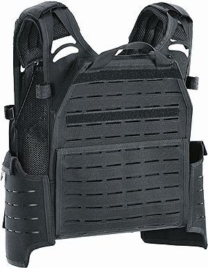 PLATE CARRIER DEFCON 5 SHADOW LASER BLACK